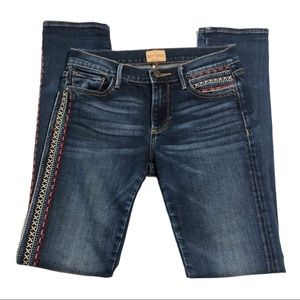 Driftwood Audrey Embroidered Jeans 1220